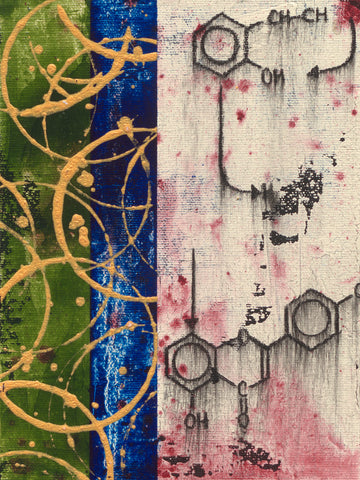 """Chemical Still Life Abstract #08"" 