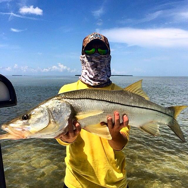 Here he is with another massive Snook
