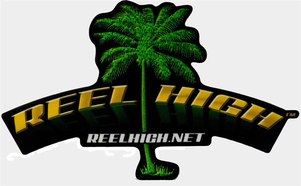 Decal - Reel High with Tree - ReelHigh