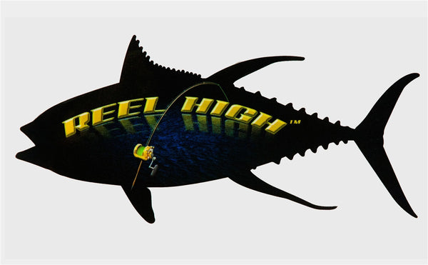 Decal - Reel High with Fish - ReelHigh