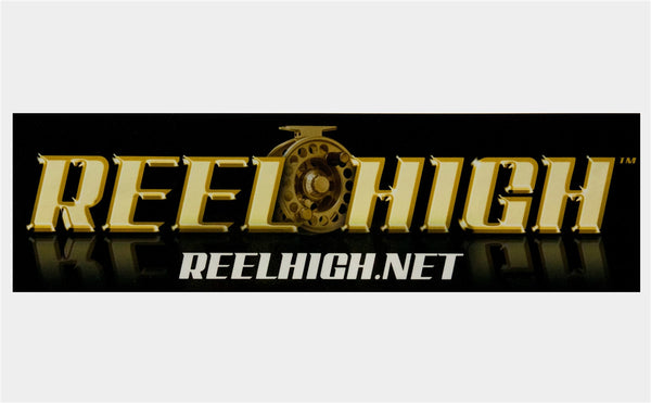 Bumper Sticker - Reel High Original - ReelHigh
