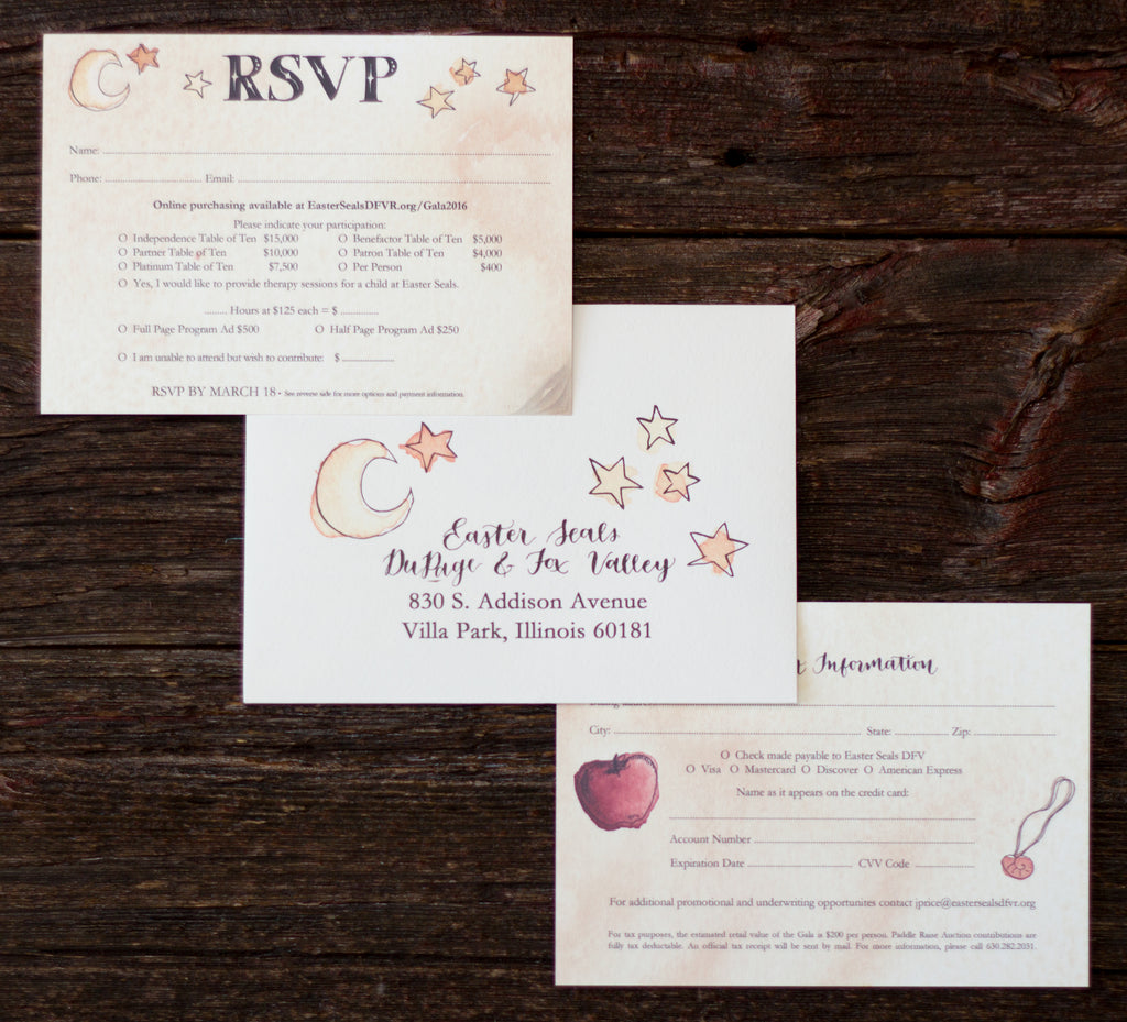Storybook Gala Invitation