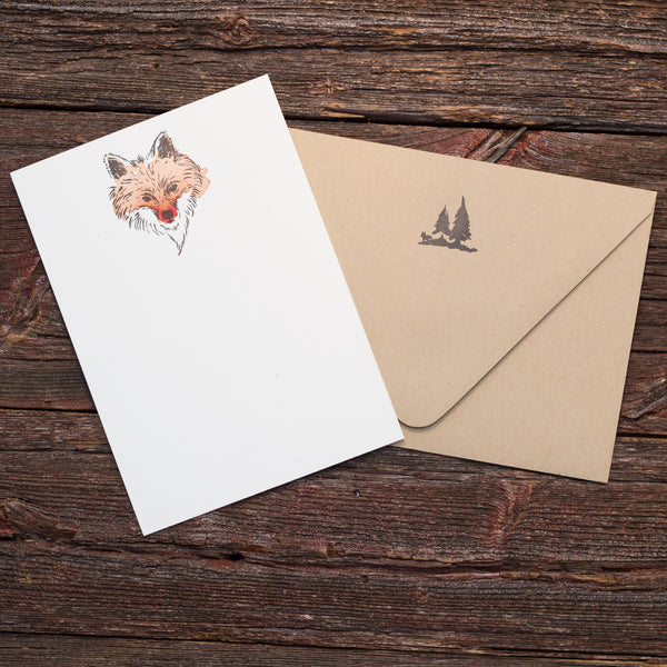 Fox Letterpress stationery