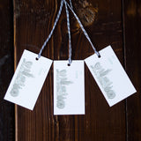 Snowy Chicago Holiday Gift Tags