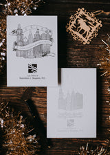 Custom Illustrated Holiday Cards