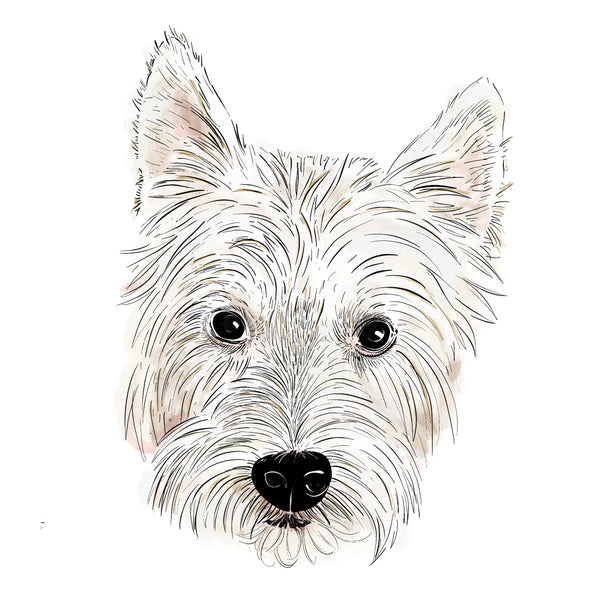 Custom Furry Friend Portrait