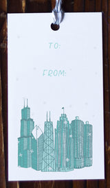 Chicago Architecture Gift Tags