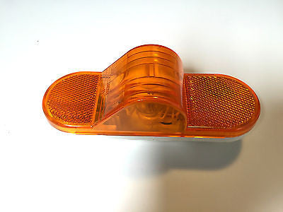 "Phillips Truck Trailer 6"" Oval Incandescent Amber Mid Turn Marker light Semi DOT"