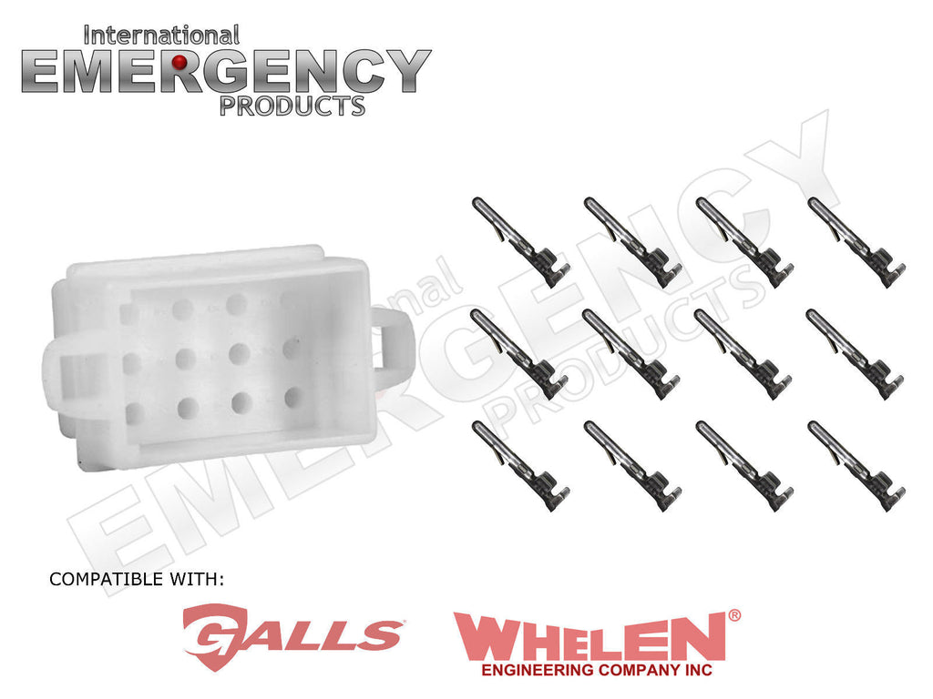 12 pin connector plug for whelen traffic advisors sirens rh iep usa com