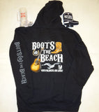 BB001- Boots @ the Beach Official Pullover Hoodie