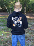 BB003- Boots @ the Beach Official Long Sleeve T-Shirt