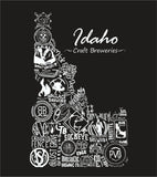 """Drink Local Beer"" Idaho Brewery Pocket Tee"