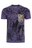 OM008- Cat Lovers- Heather Purple