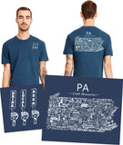 """Drink Local Beer"" Pennsylvania Brewery Pocket Tee"