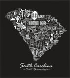 """Drink Local Beer"" South Carolina Brewery Pocket Tee"