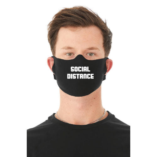 """Social Distance"" Face Mask"