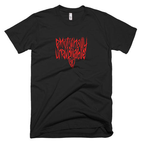 EMOtionally Unavailable - Short-Sleeve Tee