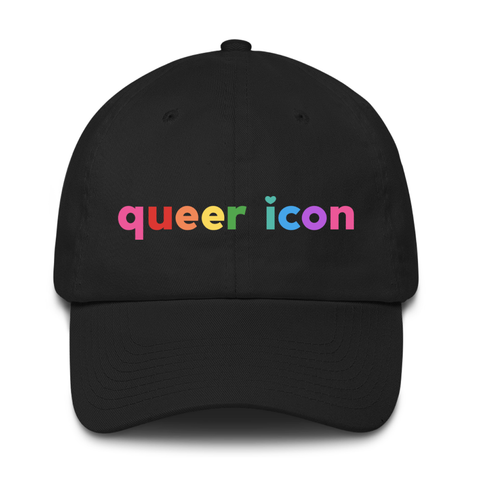 Queer Icon Embroidered Cap
