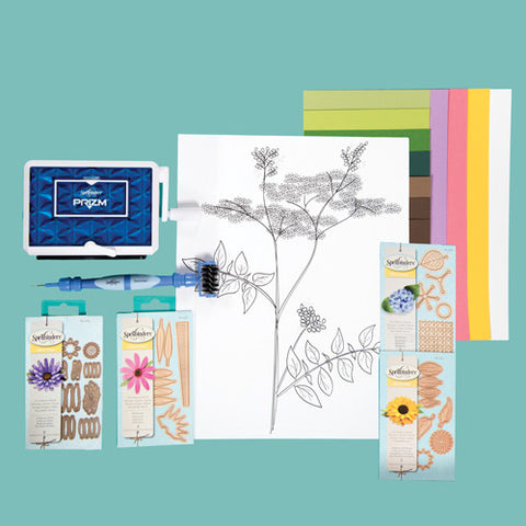 Create –a-Flower 3-D Wall Art Prizm™ Die Cutting & Embossing Machine Kit (MMK-006)
