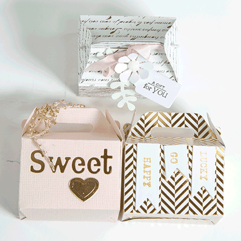Tote Shaped Treat Box Set (DOM-005)