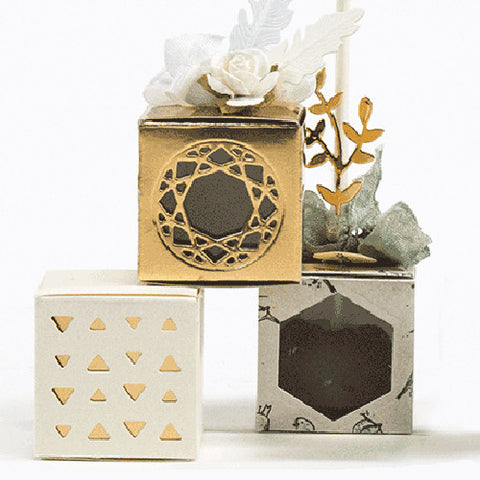 Square Shaped Treat Box Set (DOM-004)