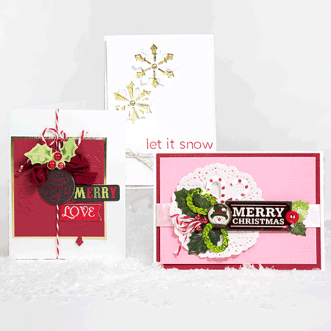 Holiday/Christmas 2015 Card Making Kit (KOM-001A)