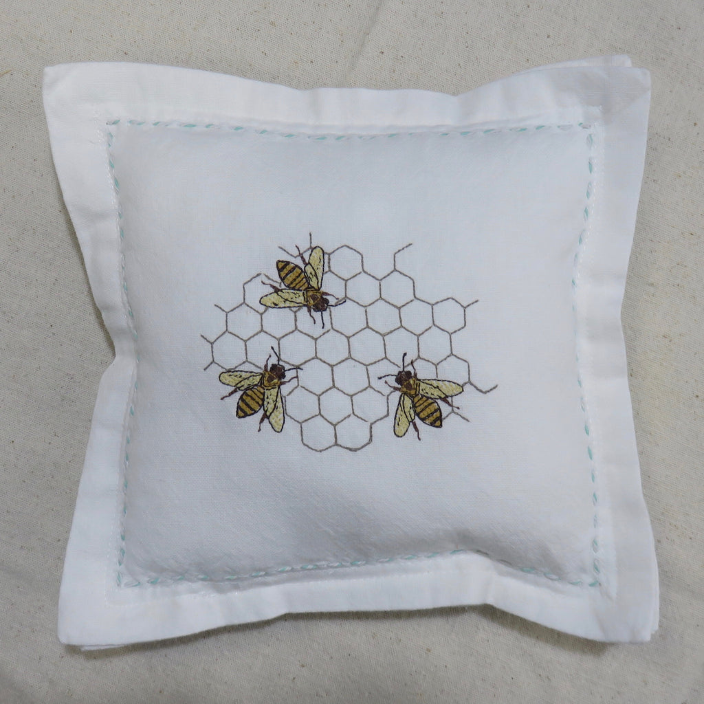 Honey Bees Decorative Pillow