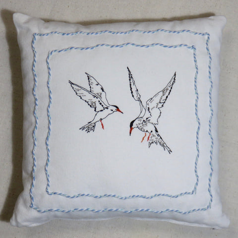 Roseate Tern Pillow