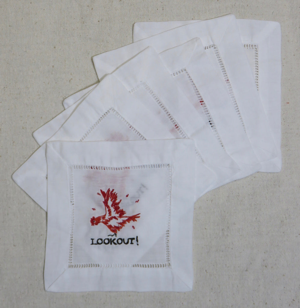 LOOKOUT! Cocktail Napkins