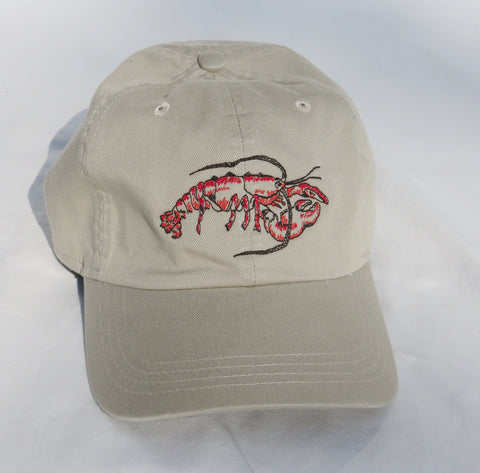 Embroidered Lobster in Red Hat/Adult