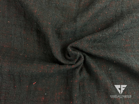 Cosplay Fabrics Desert Robe Black and Red