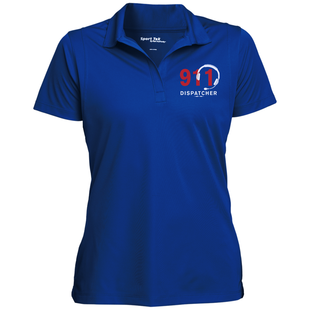 075ee0a1 911 Dispatcher Sport-Flat-Knit Collar Polo-FREE PERSONALIZATION TODAY! PRN-