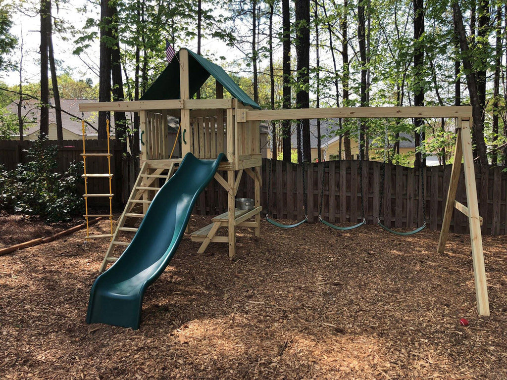 The Quality of a SwingSet Co. Outdoor Play Area