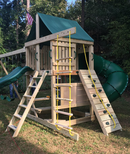 Customer Install of the Ultimate Swing Set