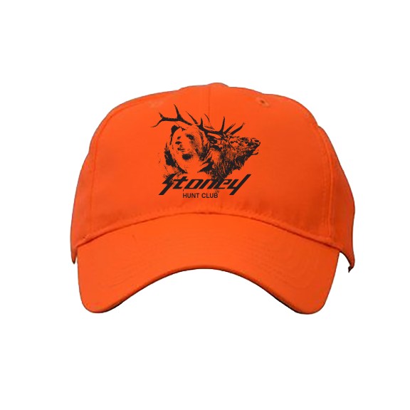 Post Malone STONEY Hunt Club Blaze Orange Hat