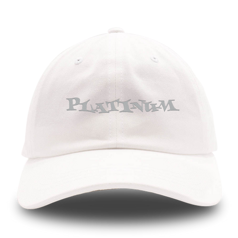 Post Malone Platinum Dad Hat [White]
