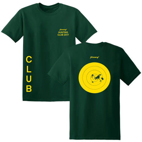 Post Malone Hunt Club Target Practice Green T-Shirt