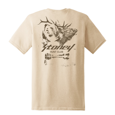 Post Malone  Hunt Club T-Shirt Sand