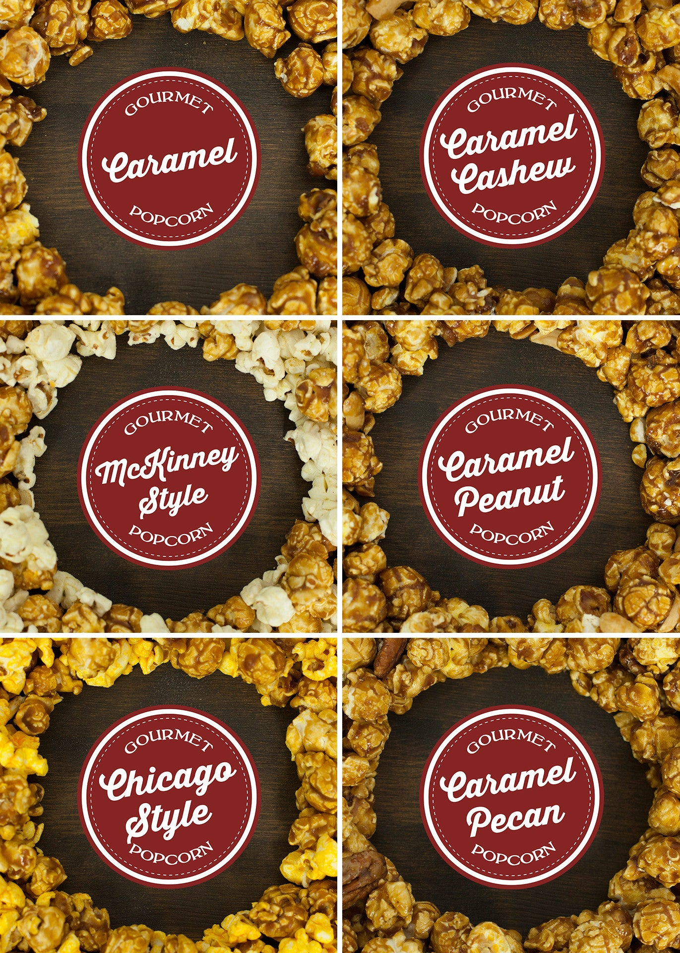 Nutty for Caramel Gift Box flavors
