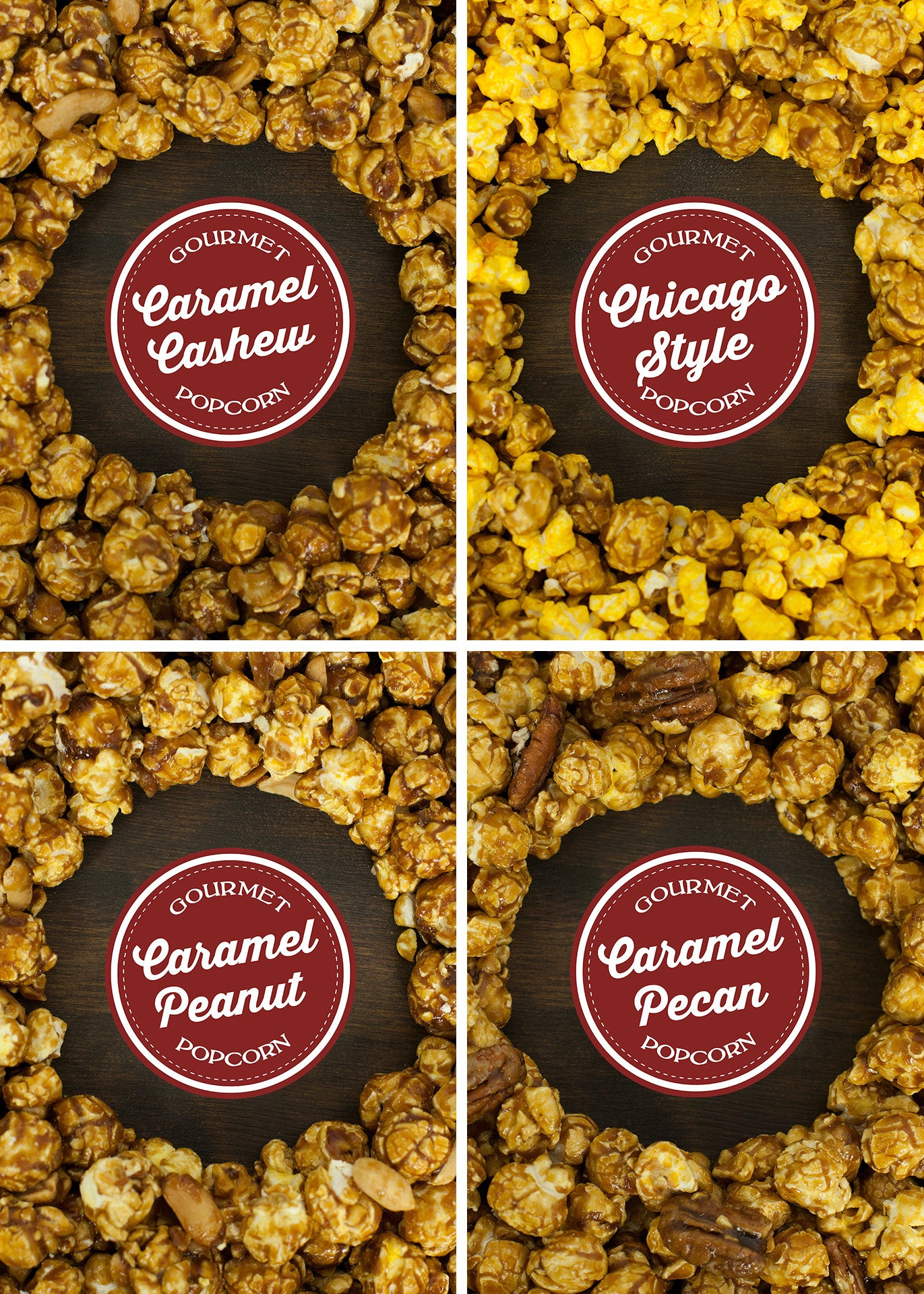 Nutty for Caramel Gift Pail flavors