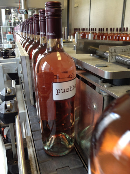 Pushback Napa Valley Rose of Cabernet Sauvignon 2015