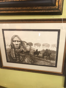 American Indian Litho Print