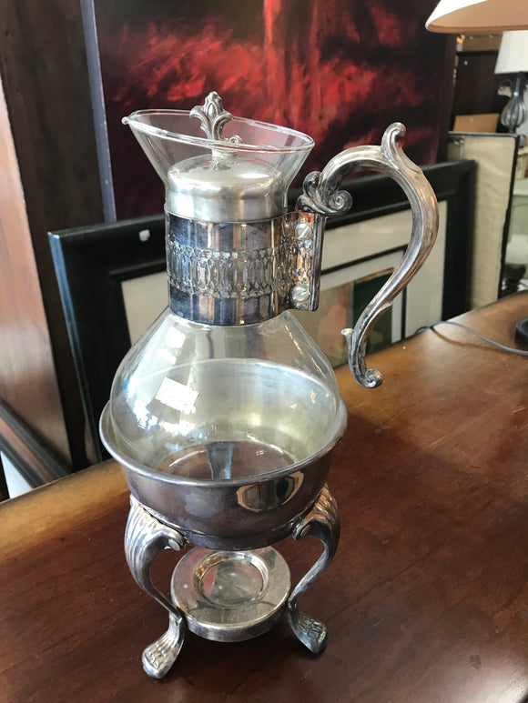 Silver plated tea or coffee server