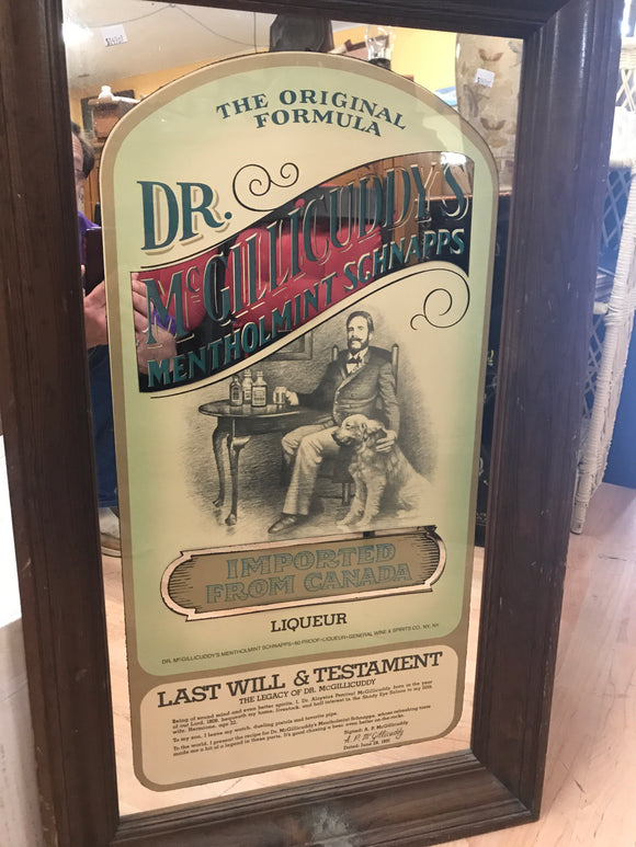 Dr mcgillicuddy's menthol mint schnapps Mirror