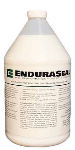 "EnduraSeal Acrylic ""Wet Look"" Semi Gloss Sealer Water Base (WB) - 1 Gallon"