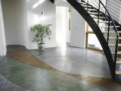 Acid stain online at EnduraCoat for a stunning floor!