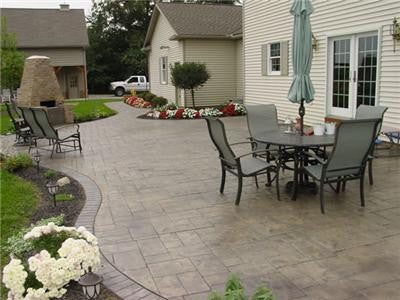 Concrete sealer online for a beautiful finish to your patio!