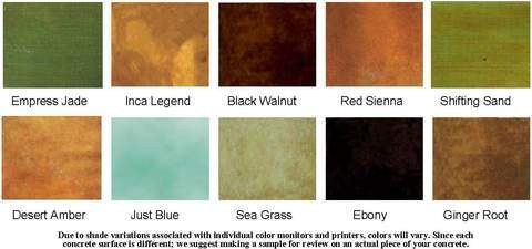 EnduraCoat Stain Colors