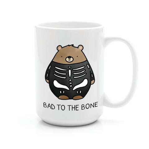 BAD TO THE BONE MUG