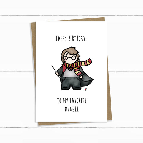 FAVORITE MUGGLE BIRTHDAY
